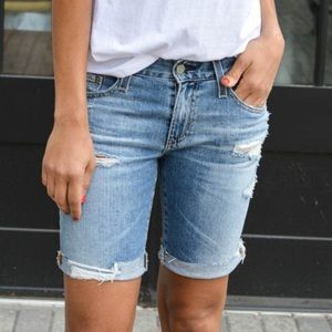 [AG] NWT The Nikki Short Distressed